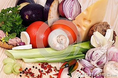 Ingredients of Simple Meals