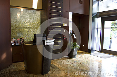 Ingresso dell hotel Seattle 1000 Fotografia Stock Editoriale