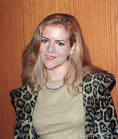 Ingrid Bergman,Jennifer Elise Cox Editorial Photo