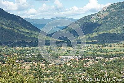 Inhabited Valley