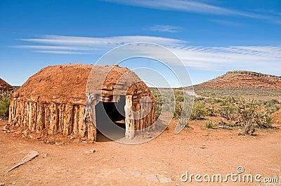 Inheemse Amerikaanse woning