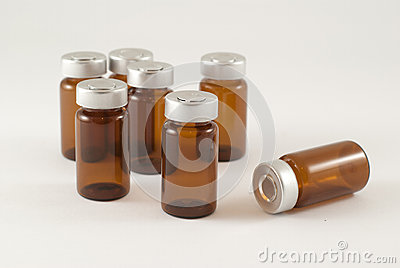 Injection vials