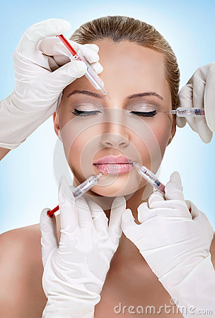 Free Injections Of Botox Royalty Free Stock Photos - 30948488