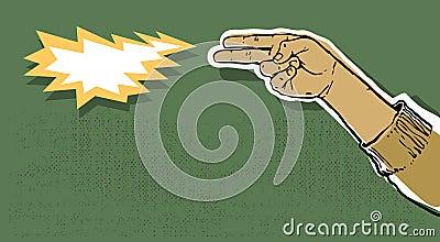 Injetor da mão