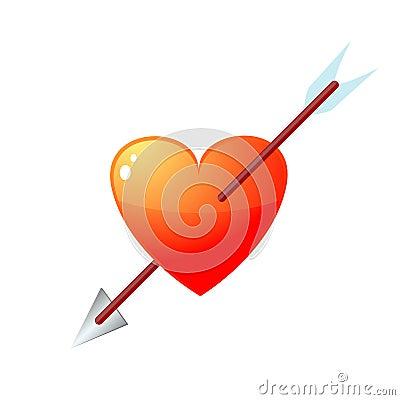 Free Injured Heart Royalty Free Stock Image - 17515646