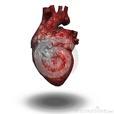 Free Injured Heart Stock Photography - 38681392
