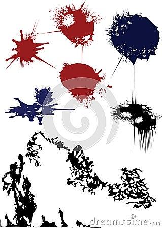 Ink blots