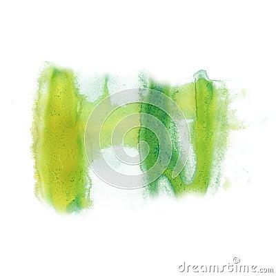 Free Ink Green Splatter Watercolour Dye Liquid Watercolor Macro Spot Blotch Texture Isolated On White Background Stock Photo - 79726450