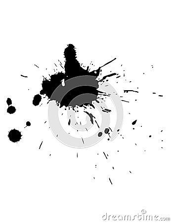 Free Ink Splat Royalty Free Stock Image - 1378996