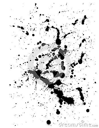 Free Ink Splat Stock Image - 1379001