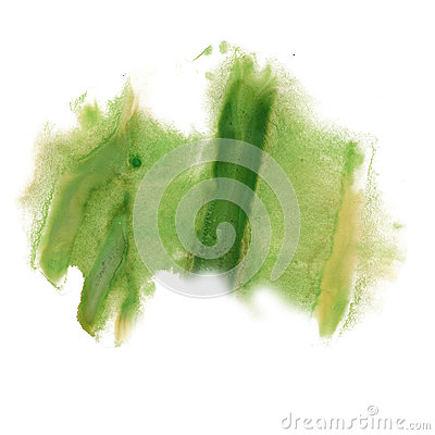 Free Ink Splatter Watercolour Green Dye Liquid Watercolor Macro Spot Blotch Texture Isolated On White Background Royalty Free Stock Photos - 79726348