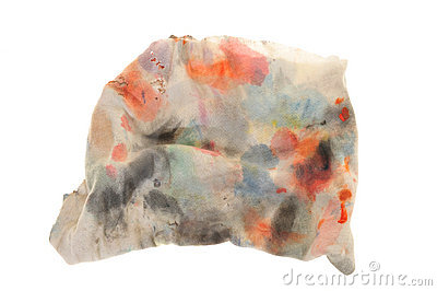 Ink Stained Cloth