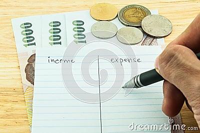 Inkomen & uitgave