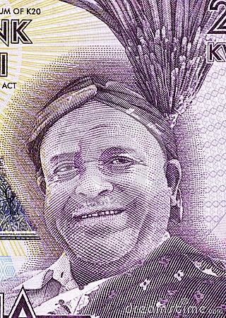 Inkosi Ya Makhosi M  Mbelwa II Editorial Stock Image