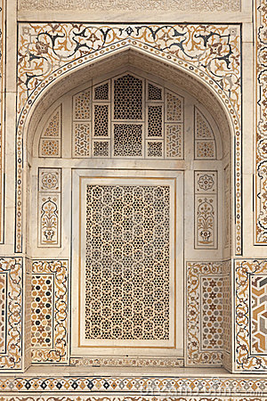 Inlaid Marble on Islamic Tomb