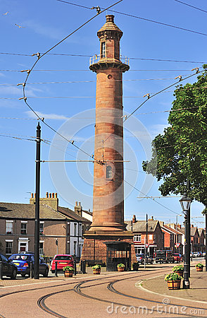 Inland lighthouse, (Pharos) Fleetwood Lancashire