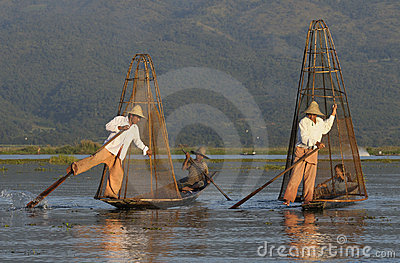 Inle Lake Life 3 Editorial Photo