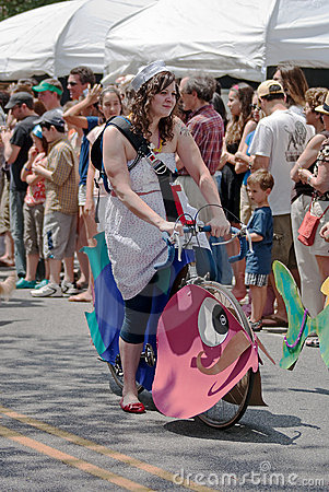 Inman Park Spring Festival Parade Atlanta Georgia Editorial Photo