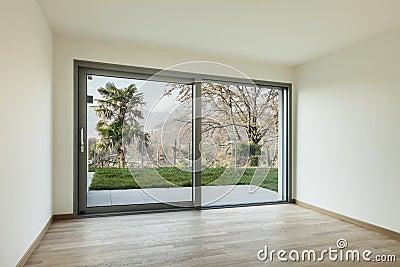 Fenster innen modern  Leerer Raum Lizenzfreie Stockfotos - Bild: 24079718