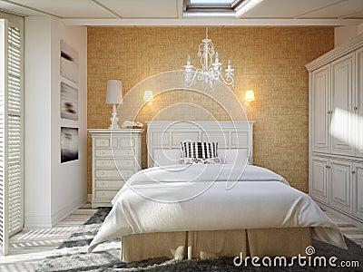 Innenarchitektur - Schlafzimmer Stockfotografie - Bild: 2597162