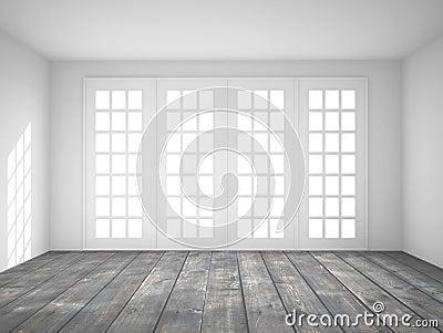 Fenster innenraum  Innenraum Mit Großem Fenster Lizenzfreies Stockfoto - Bild: 27485265