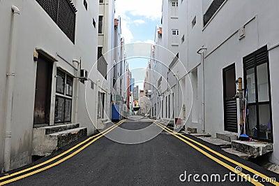 Inner City Alleyway