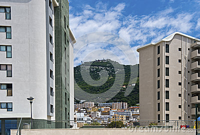 Inner city of Gibraltar