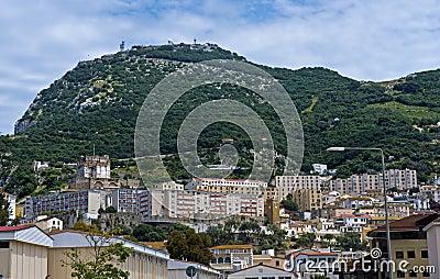 Inner city of Gibraltar