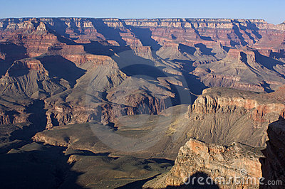 Inner Grand Canyon Walls, Arizona, USA