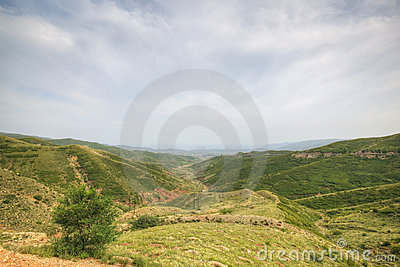 Inner mongolia: mountain landscape