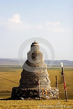 Inner Mongolia Worship Pagoda