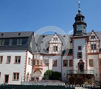 Inner square of Residence Weilburg