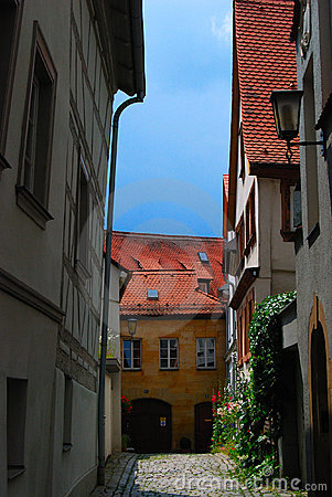 Inner yard in Bamberg