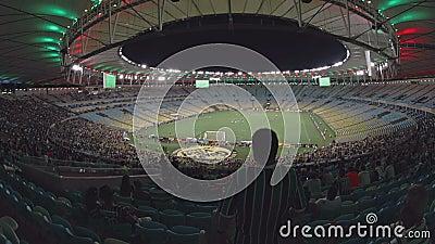 Inneres Maracana-Fußball-Stadion