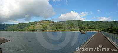 Innerste lake reservoir