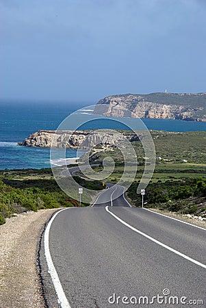 Free Innes National Park Coastal Road Stock Photo - 5735910