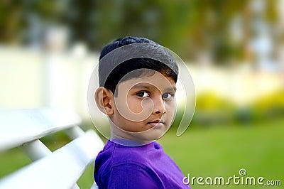 Innocent boy of 6 years