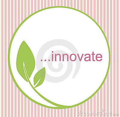 Innovate Green Leaf Logo