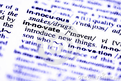 Innovate word