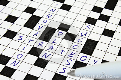 Innovation, Strategy, Plan, Success Crossword