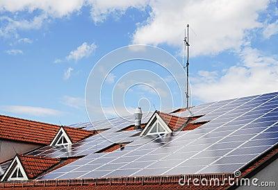 Innovative house roof