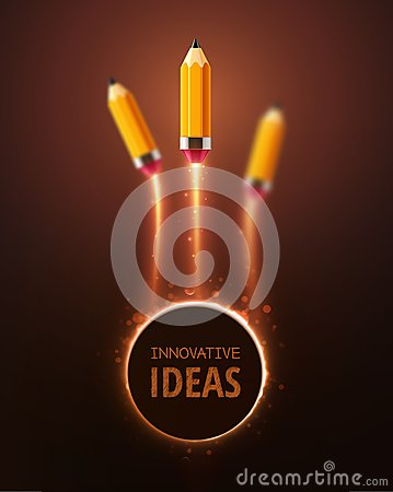 innovative ideen vektor abbildung bild 50577340. Black Bedroom Furniture Sets. Home Design Ideas