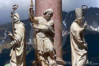 Innsbruck,Austria Statue