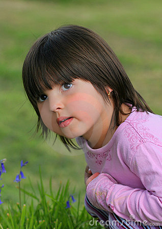 Free Inquisitive Little Girl Stock Photography - 257882