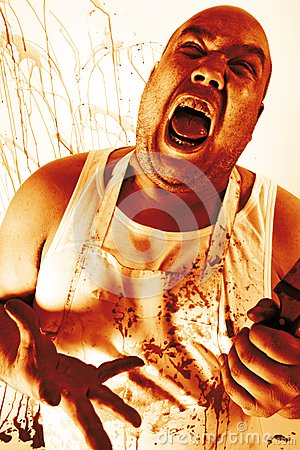 Insane butcher