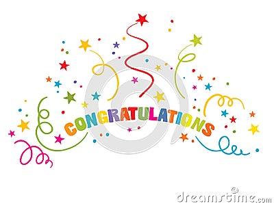 Inscription - Congratulations