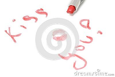 Inscription kiss you