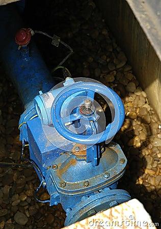 An insdustrial valve