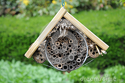 Insect Hotel Royalty Free Stock Photo Image 30957065