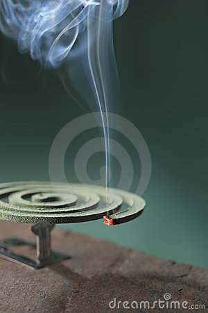 Insect repellent incense